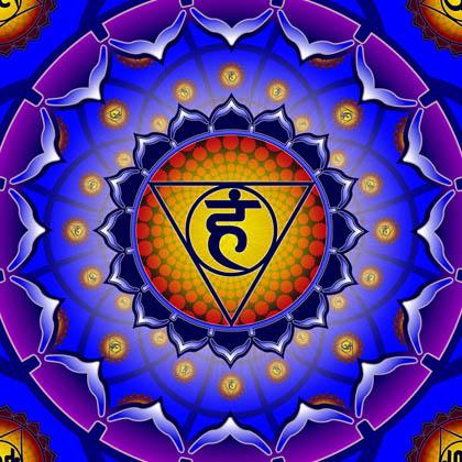 5 Čakra – krční čakra, komunikační centrum – višuddha