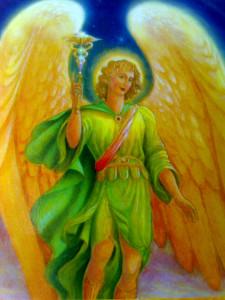 archanděl Rafael léčí