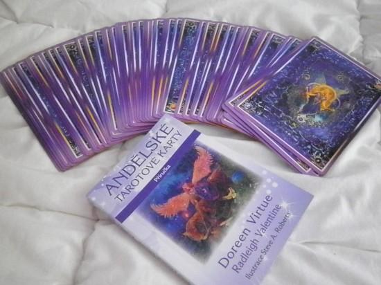 Výherci balíčku Andělských karet duben 2015